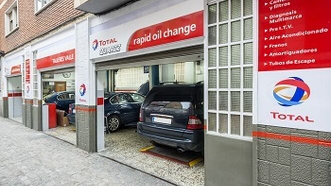 Total Rapid Oil Change supera los 200 talleres en España