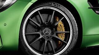 Versión especial del Michelin Pilot Sport Cup 2 para el nuevo Mercedes-AMG GT R