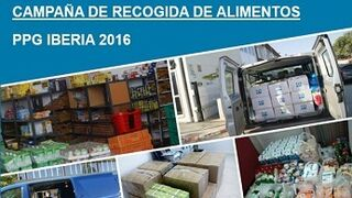 PPG consigue 5.862 kilos de alimentos en su campaña de recogida