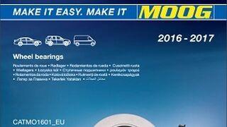 Moog suma a su oferta de rodamientos de rueda 130 referencias en 2016