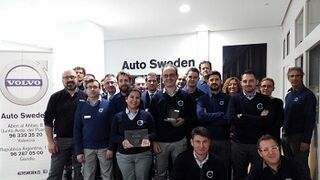 Auto Sweden es galardonado como mejor concesionario Volvo en España