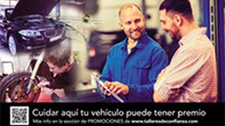 Los talleres de Asetra regalan vales descuento para Halcón Viajes