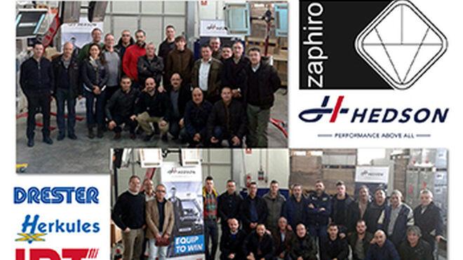 Zaphiro forma a talleres en equipamiento tecnológico de Hedson