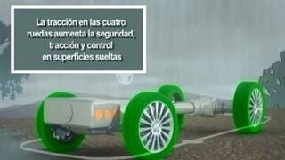 Cómo funciona el sistema de tracción total de Subaru AWD