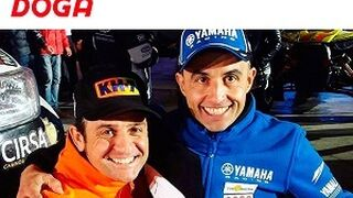 Doga patrocina a Isidre Esteve y Joan Font en el Dakar 2017