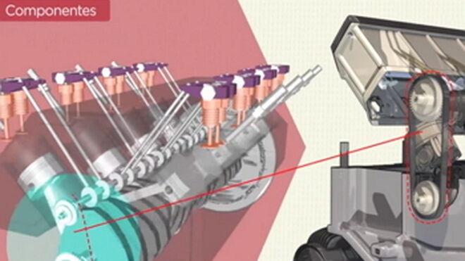 Cómo es el funcionamiento de un motor de gasolina