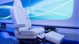 Diseñan asientos con suspensión para los coches autónomos del futuro