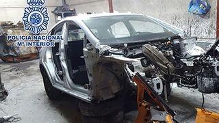 Un mecánico se quedaba los coches de sus clientes para despiezarlos
