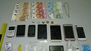 Un taller pirata escondía un punto de venta de droga