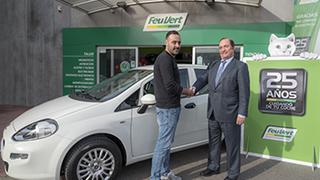Feu Vert entrega 25.000 premios y un coche por su 25 aniversario