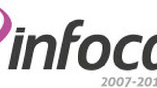 Nuevo logo para celebrar el décimo aniversario de Infocap en 2017