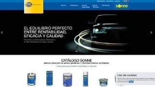 Sonne, con nueva web en España y Portugal