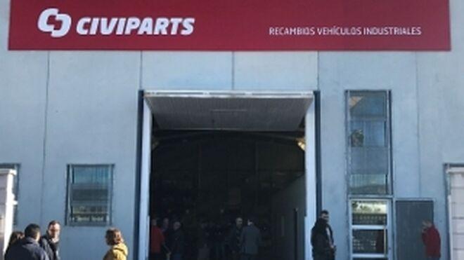 Civiparts abre en Murcia su quinta delegación en España