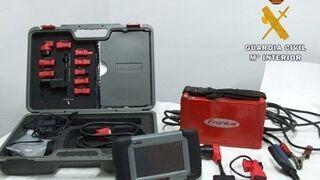 Detenido por comprar herramientas robadas en un taller
