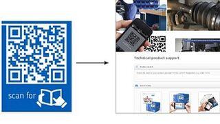 SKF incorpora códigos QR a toda su gama de productos