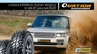 Llega a España el neumático 4X4/SUV de Ovation