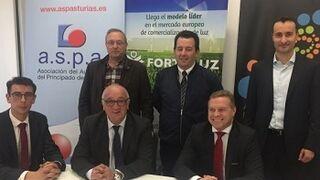 Aspa suscribe un acuerdo para compras de electricidad