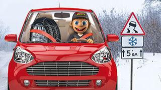Coche a punto y prudencia, claves para conducir en invierno