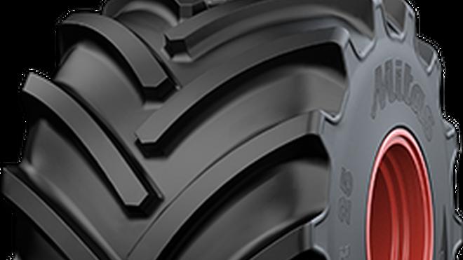 Nuevo neumático para maquinaria agrícola de alta potencia de Mitas