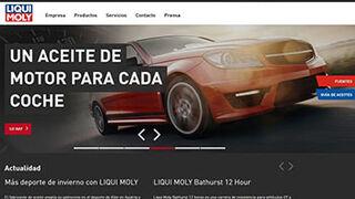 Liqui Moly renueva la imagen de su página web