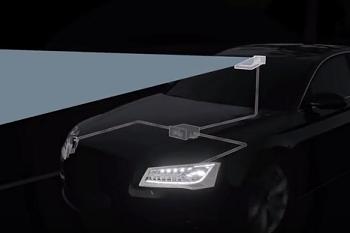 Cómo funcionan los faros matrix LED de Audi.