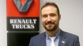 Renault Trucks nombra a Andrés Saiz nuevo director de posventa