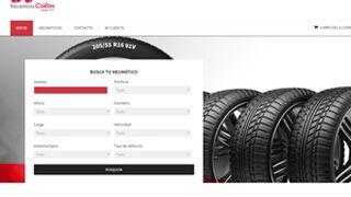 Recambios Colón lanza una nueva web de venta de neumáticos