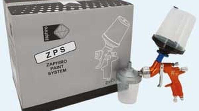 Zaphiro presenta un sistema de pintado con vasos desechables