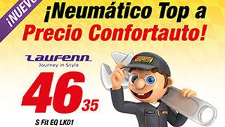 Confortauto ofrece neumáticos Laufenn a precios especiales