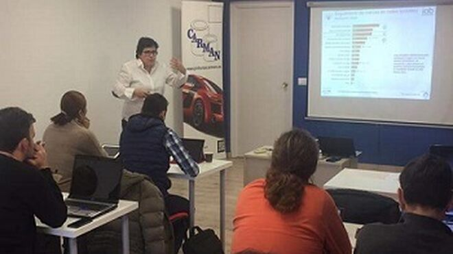 Talleres de Pinturas Carman se forman en marketing online con Nexa