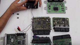 Cómo se analizan los semiconductores de un circuito electrónico