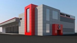 R1 Gama inaugura en junio un concesionario de Renault Trucks