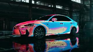 Lexus LIT IS, el coche que cambia su carrocería de color