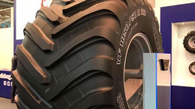 Trelleborg presenta en SIMA su nuevo neumático para abonadoras
