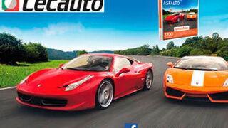 Fotografía el stand de Cecauto en Motortec y conduce un Ferrari