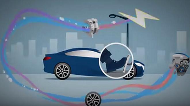 Cómo funciona la frenada regenerativa i-ELOOP de Mazda