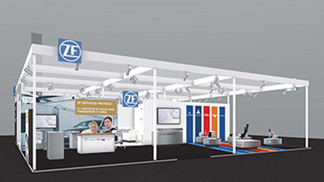 ZF expondrá su concepto de taller ZF Services [pro]Tech en Motortec