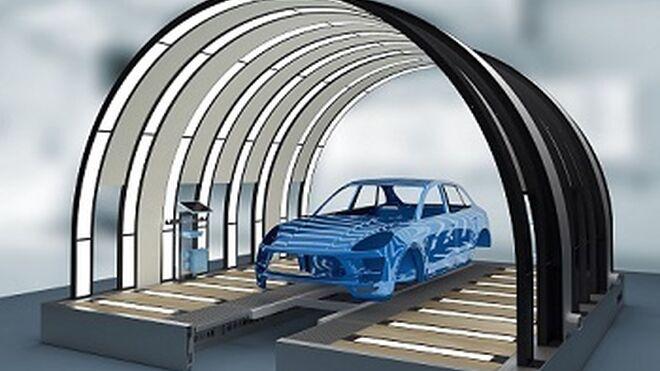 Dürr presenta un túnel de luz para localizar imperfecciones en la pintura