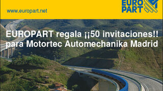 Europart te invita a Motortec Automechanika Madrid