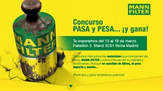 Mann-Filter celebrará el concurso 'Pasa y pesa' en Motortec