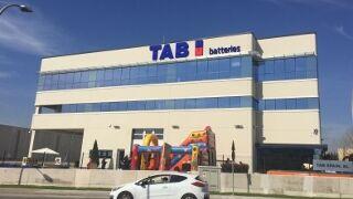 TAB construye en España un gran almacén de baterías