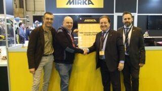 Mirka Partnership, talleres limpios y sostenibles en lijado y pulido de carrocerías