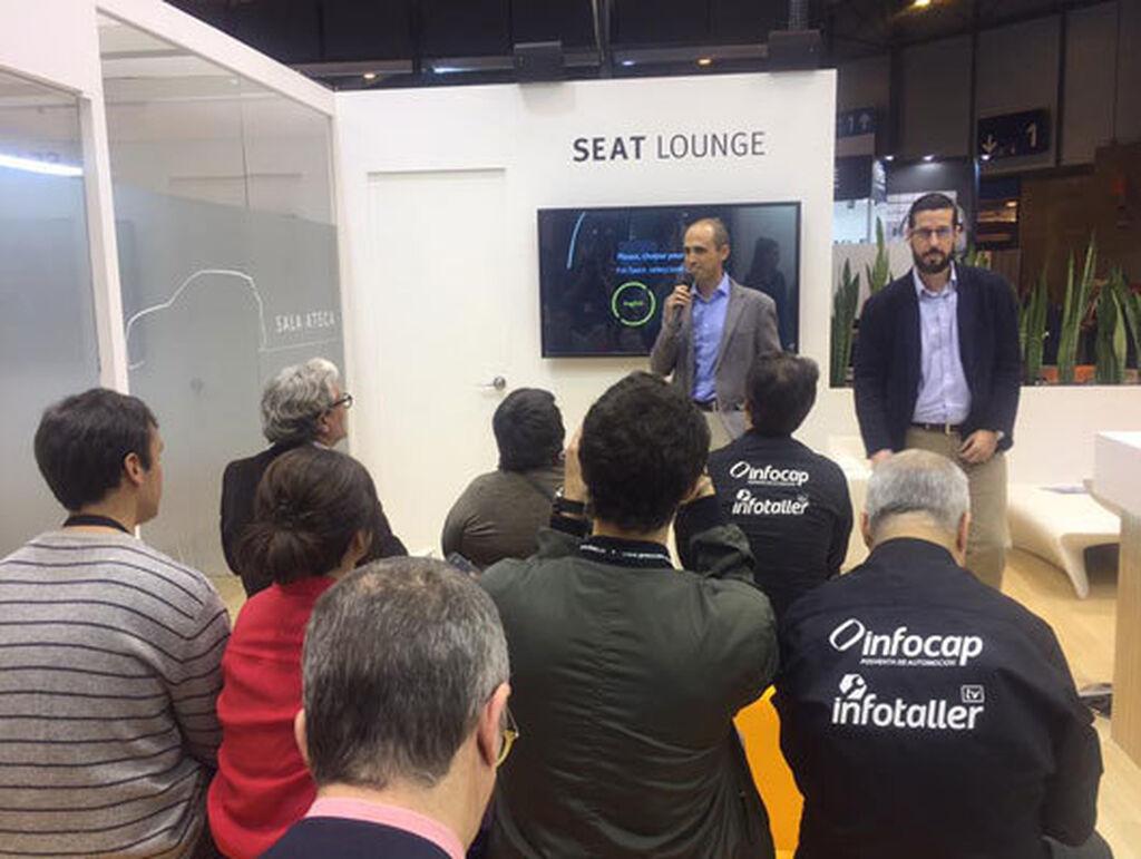 Ángel Campo explicó las ventajas de PRO Service, el nuevo proyecto de venta de recambios de Volkswagen Group.