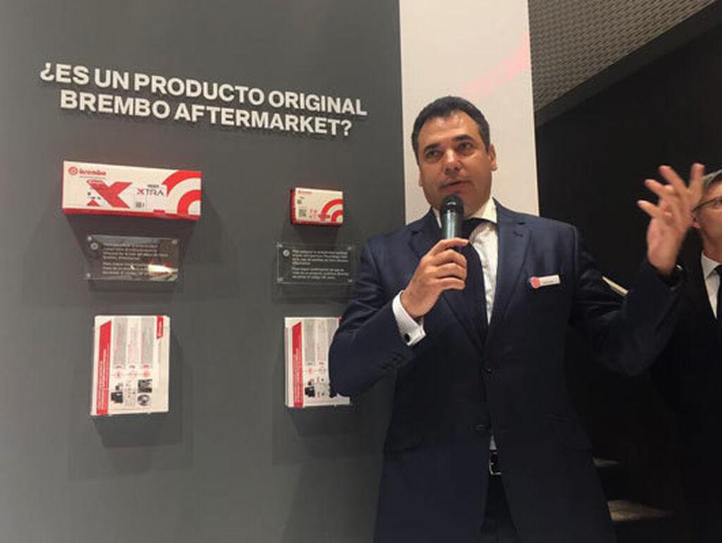 Benito Tesier, director general de Brembo, destacó los hitos de la compañía en el último año.