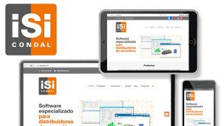 Isi Condal estrena web e imagen corporativa
