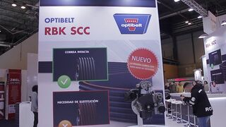 Correa SCC estriada con control de desgaste, de Optibelt