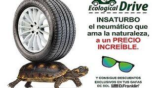 Nueva campaña de Ecological Drive para el cambio de neumáticos