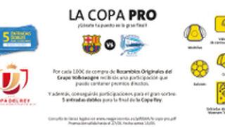 Con PRO Service a la final de la Copa del Rey de Fútbol