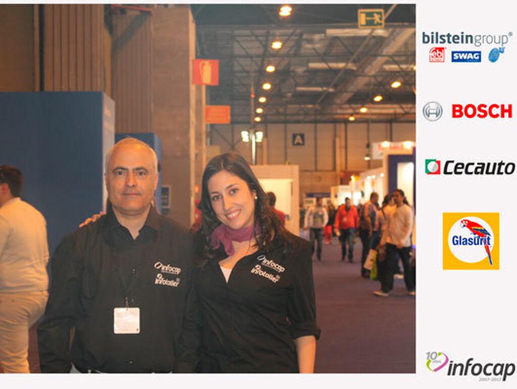 Ángel Palacios y Mar Calderón, editor y directora de Infocap /  InfotallerTv