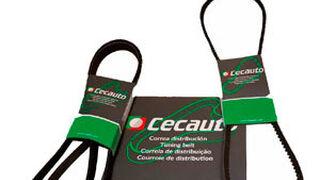 Cecauto lanza una nueva gama de correas de marca propia